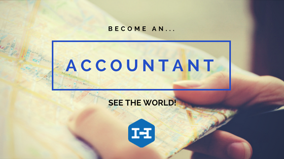 Become an accountant, travel the world